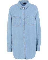 Vero Moda Denim Shirt - Blue