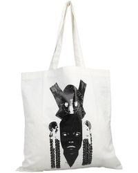 Rick Owens Drkshdw Shoulder Bag - White