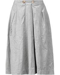 Suoli 3/4 Length Skirt - Grey