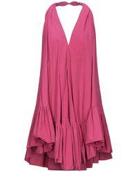 Ainea Short Dress - Pink