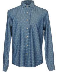 Xacus Camisa vaquera - Azul
