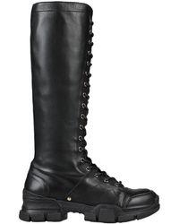 Carla G Knee Boots - Black