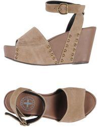 Fiorentini + Baker Sandals - Natural