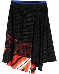 Koche Midi Skirt - Black