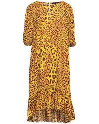 True Religion Midi Dress - Yellow