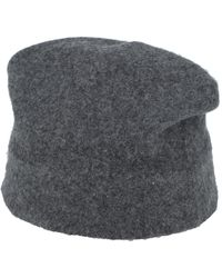 Roberto Collina Hat - Grey