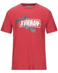 LHU URBAN T-shirt - Rouge