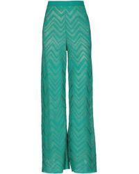 M Missoni Pantalone - Verde