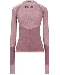 Reebok X Victoria Beckham T-shirt - Purple