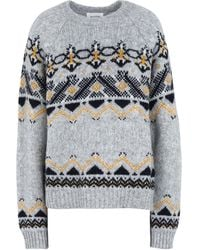 WOOD WOOD Pullover - Gris