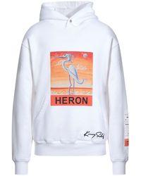Heron Preston Sweat-shirt - Blanc