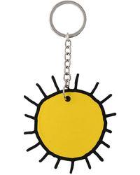 Christopher Kane Key Ring - Yellow