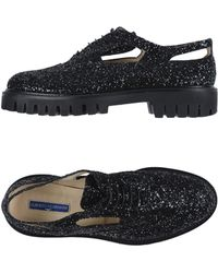 Alberto Guardiani Lace-up Shoe - Black