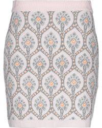 be Blumarine Knee Length Skirt - Pink