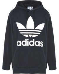 adidas Originals - Sweat-shirt Oversize Trefoil - Lyst
