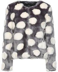 Unreal Fur Pieles sintéticas - Gris