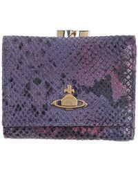 Vivienne Westwood Wallet - Purple