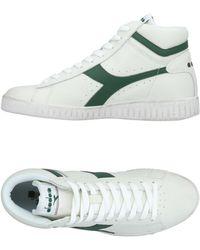 Scarpe Diadora uomo Martin bianco verde