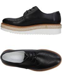 Rocco P Lace-up Shoe - Black