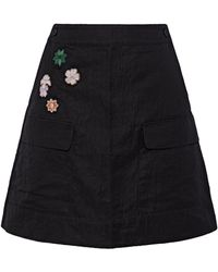 Tomas Maier Mini Skirt - Black