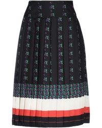 Tory Burch Knee Length Skirt - Blue