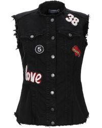 ViCOLO Denim Outerwear - Black
