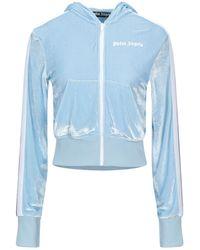 Palm Angels Sweat-shirt - Bleu