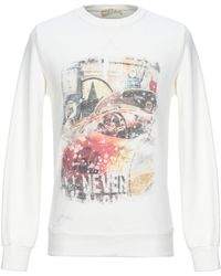 Athletic Vintage Sweatshirt - White