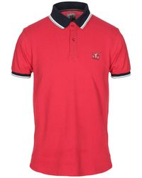 Henry Cotton's Polo Shirt - Red