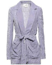 Suoli Suit Jacket - Purple
