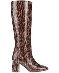 Maryam Nassir Zadeh Knee Boots - Brown