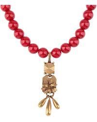 Valentino - Necklace - Lyst
