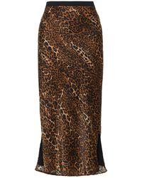 Cami NYC Midi Skirt - Brown