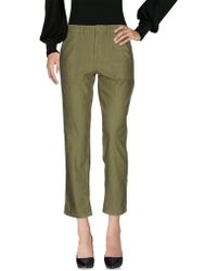 Obey - 3/4-length Trousers - Lyst