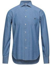 Brooksfield Denim Shirt - Blue