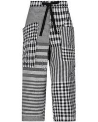 Y's Yohji Yamamoto Pantalones piratas - Negro