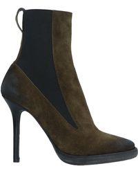 Haider Ackermann Ankle Boots - Green