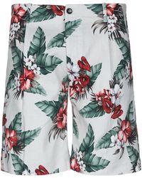 Nine:inthe:morning Shorts & Bermuda Shorts - White