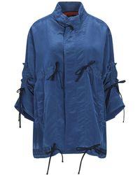 Colville Overcoat - Blue