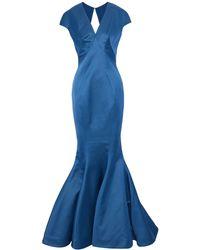 Zac Posen Long Dress - Blue
