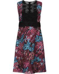 Burberry Short Dress - Purple