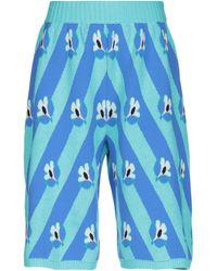 MM6 by Maison Martin Margiela Shorts & Bermuda Shorts - Blue