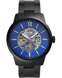Fossil Armbanduhr - Schwarz