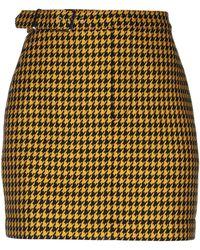 McQ Mini Skirt - Yellow