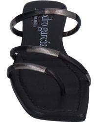 Pedro Garcia Toe Strap Sandal - Black