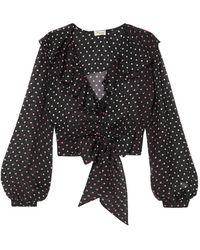 Temperley London Shirt - Black