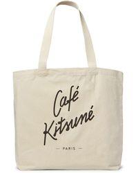Café Kitsuné Handtaschen - Weiß