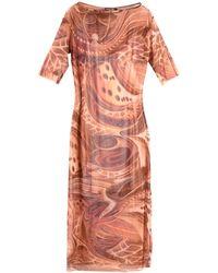 Mariagrazia Panizzi Long Dress - Brown
