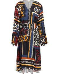 House of Dagmar Midi Dress - Multicolour