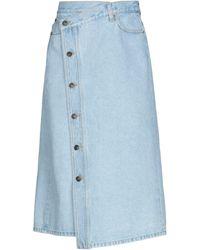 Ports 1961 Denim Skirt - Blue